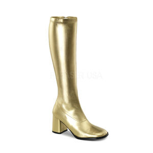 Shoes - High Heel Knee High Boots Cosplay Festival Gogo